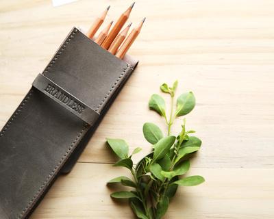 Pencil case grey thumb
