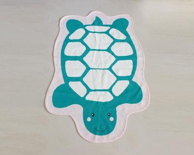 Turtle kids room rug thumb