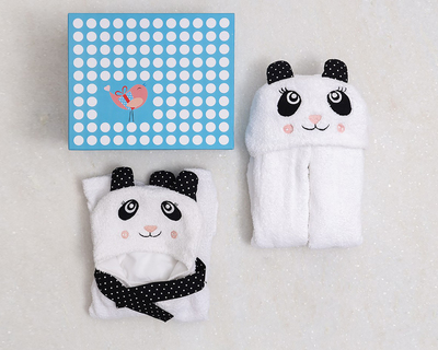 Spa time baby toddler gift set panda thumb