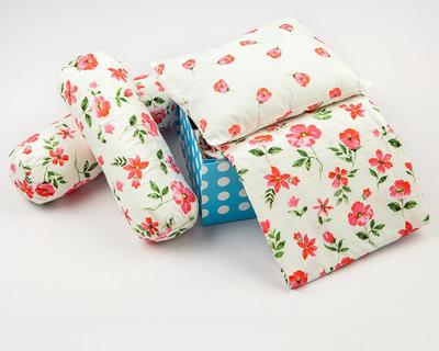 Night night organic crib gift set blossoms thumb