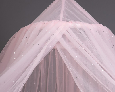 Shimmer pink canopy thumb