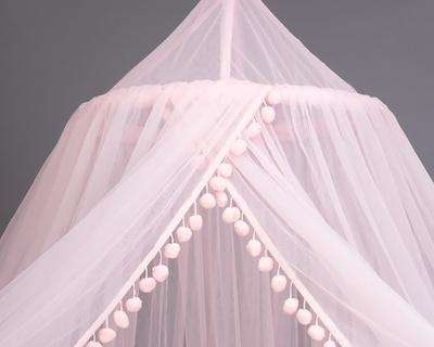 Pom pom pink canopy thumb