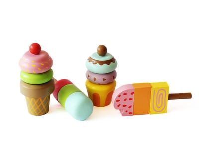 Shumee ice cream magnetic set thumb