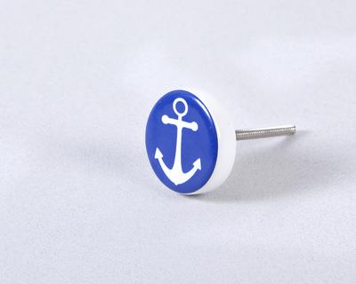 Anchor knob thumb