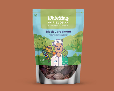 Black cardamom pack of 2 thumb