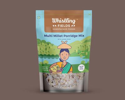 Multi millet porridge mix pack of 2 thumb