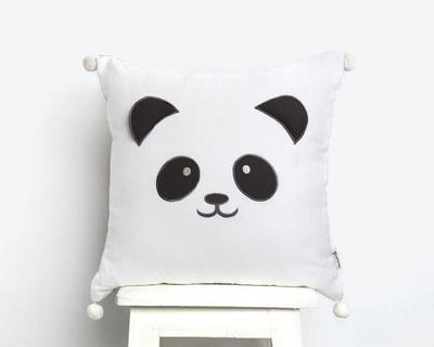 Peekaboo panda cushion thumb
