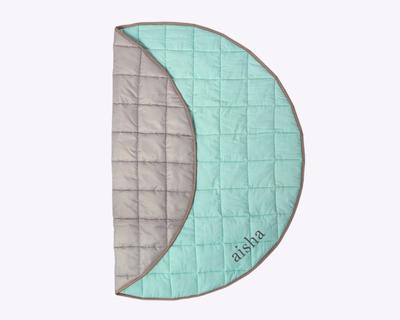 Indoor outdoor play mat celadon green thumb