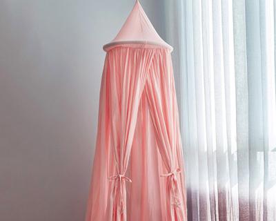 100 cotton sleep play canopy pink thumb
