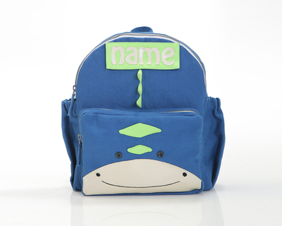 Customized dino toddler backpack thumb