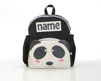 Customized panda toddler backpack thumb