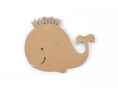 Pin your interests cork board whale thumb