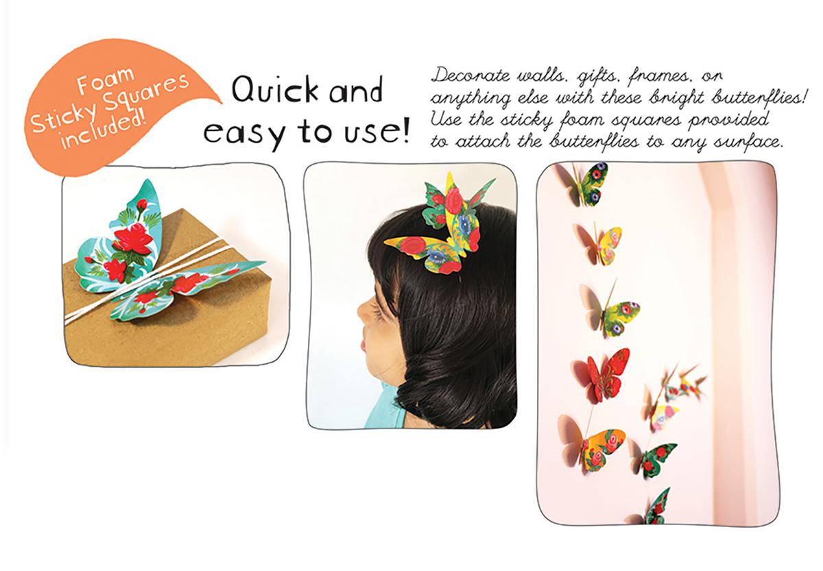 Natty : Decorative Paper Birds - Set of 24