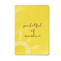 Neoteric bloom stationery pocketful of sunshine notebook a5 300 gsm paper small