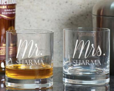 Pesonalised whiskey glasses thumb
