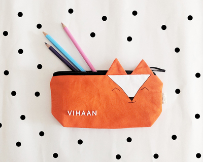 The fox pencil pouch thumb