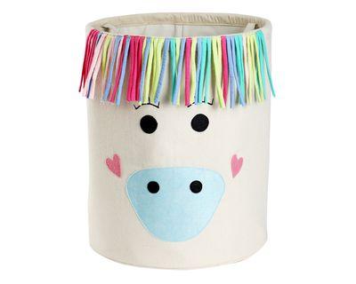 Stay magical little unicorn storage basket thumb
