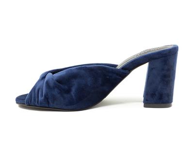 Blue twist block heels mary thumb