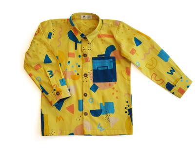 Squiggle formal shirt thumb