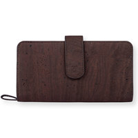 Kim clutch wallet brown blue small