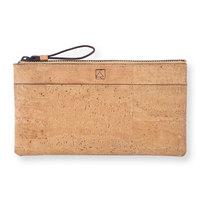 Slim kim minimal wallet natural maroon small