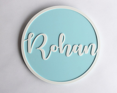 Name sign squiggle blue thumb
