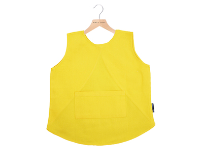 Cupcake bibs yellow color thumb