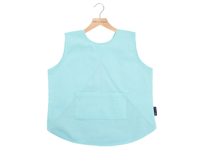 Cupcake bibs light blue thumb