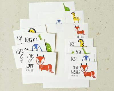 Kit personalised stationery set equal mix thumb