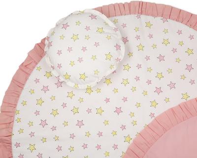 Stars organic play mat nursery floor mat baby mat 920 ol14 thumb