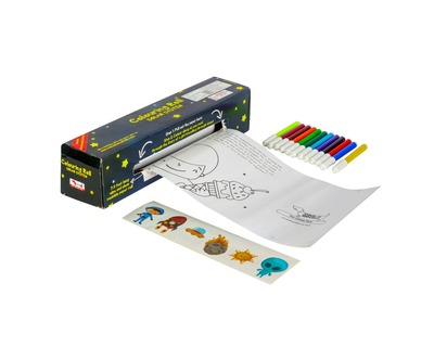 Solar system colouring roll story book with crayons 940 tkscr thumb