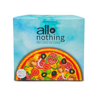 Sayobi all or nothing play a slice win a pizza for kids adults play with friends or family the pizza card game small